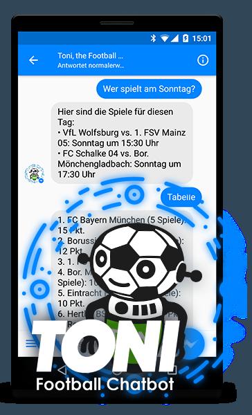 Der Fußball Chatbot