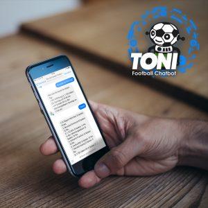 Toni, der Fußball Chatbot für Facebook Messenger